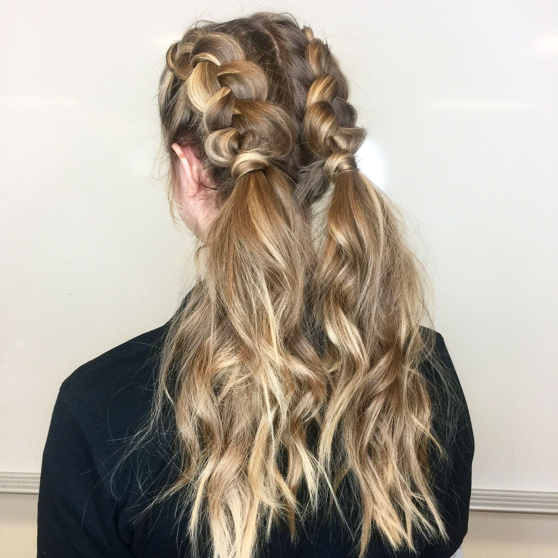 Dutch Braid Pigtail Hairstyle Pigtail Hairstyles Dutch Pigtail Braids Hair Styles