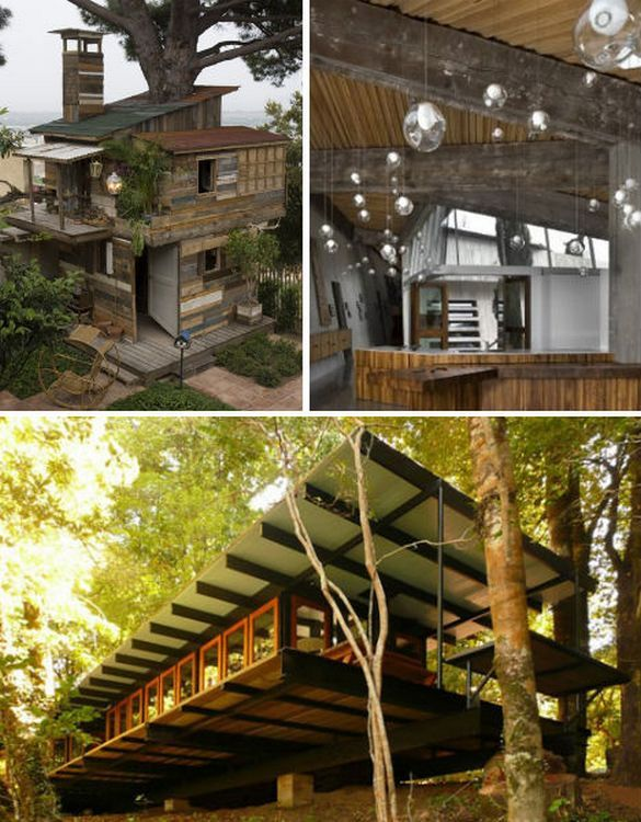 30 eco chic houses made of 10 types of recycled materials pallet