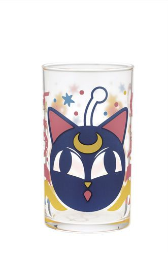 Sailor Moon Luna Ball Glass Cup Ichiban Kuji E Prize Anime Mug NEW