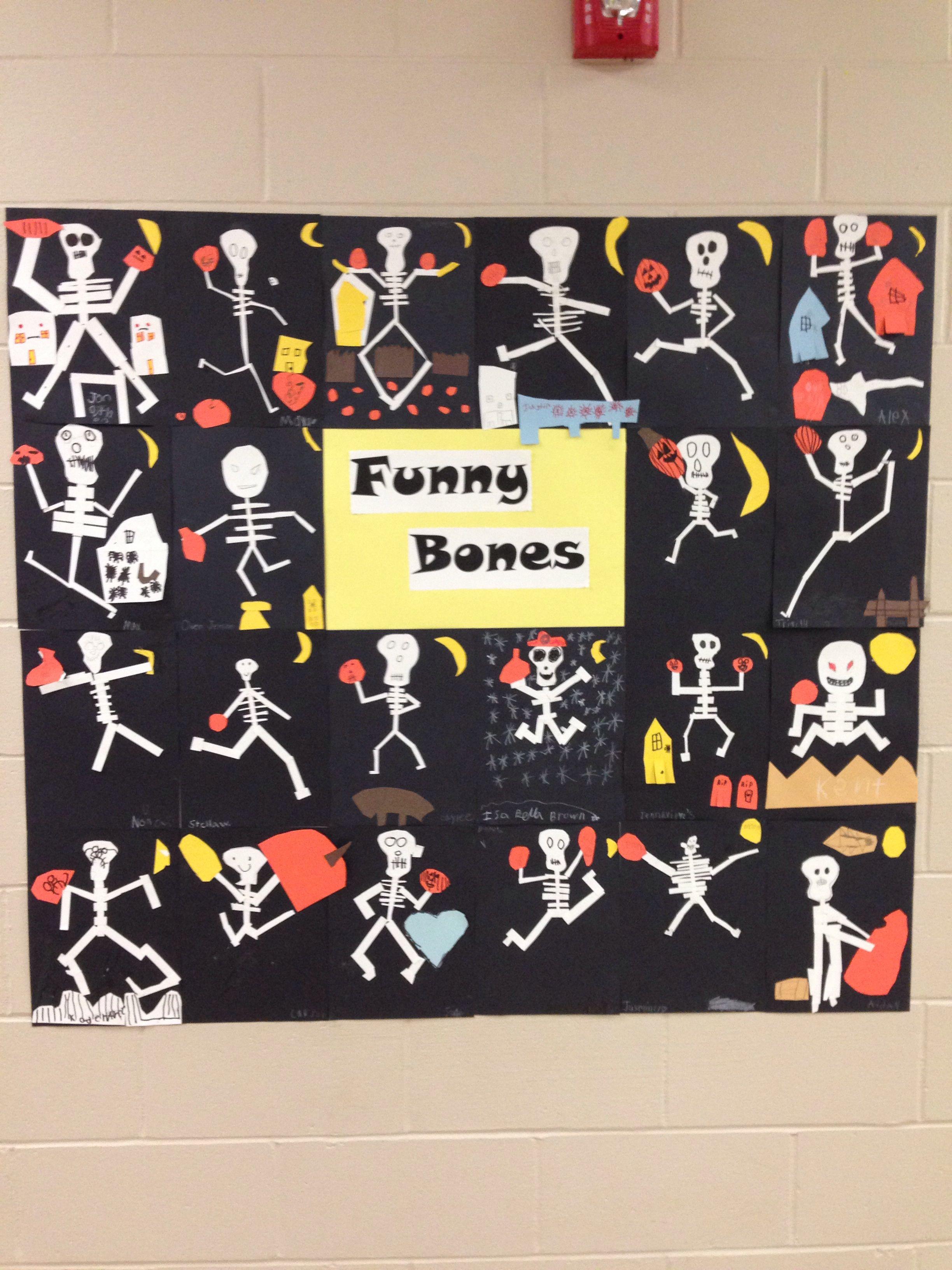 Halloween Bulletin Board Funny Bones I Love How Each