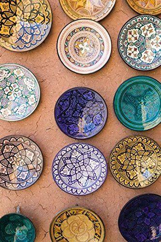 Pin By Maryam Sadeghi On Pottery Moroccan Plates Decor
