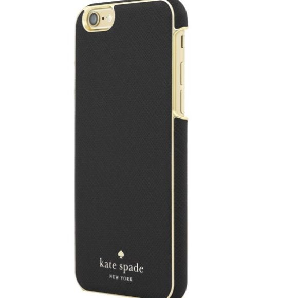 more photos 2cae9 33c48 Brand new Kate Spade iPhone 6S plus Phone Case Black with gold font ...