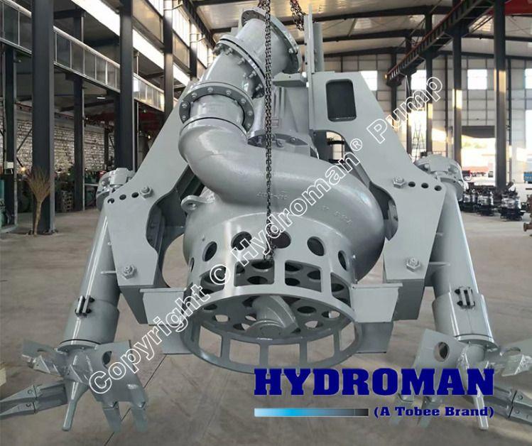 Hydraulic Dredge Pump with cutter heads, Hydraulic Sand Pump