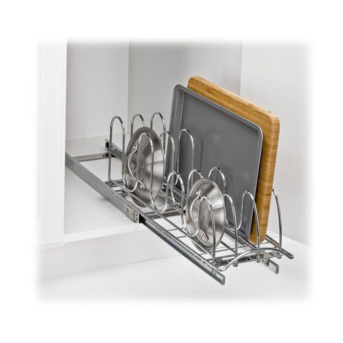 Lid Holder Pull Out Drawer Pan