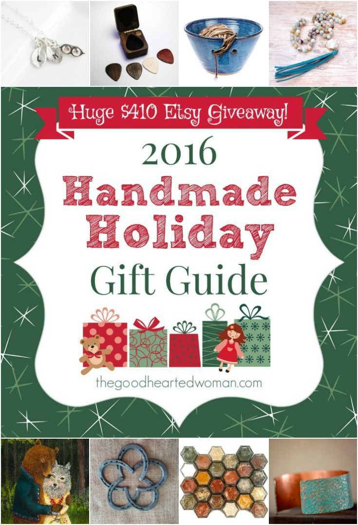 the best handmade holiday gift guide