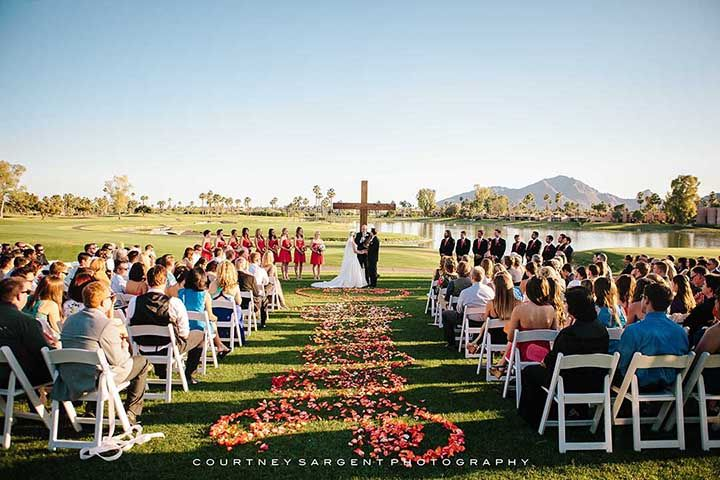 Luxe Wedding Venue Mccormick Ranch Golf Club Arizona Weddings Magazine