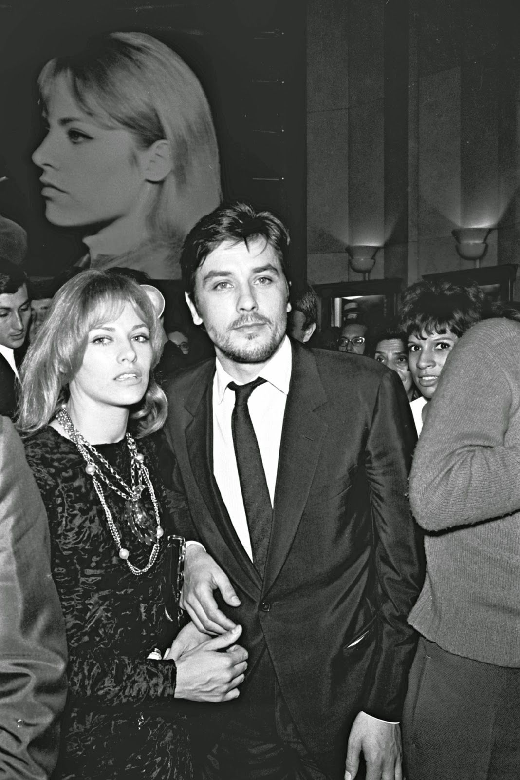 The Delons Alain And Nathalie Alain Delon Romy Schneider Movie Stars