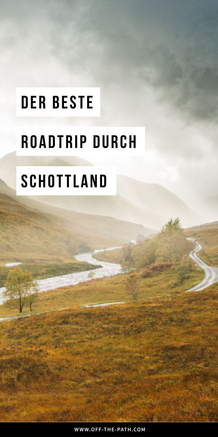 Schottland Rundreise: Was du auf einem Schottland Roadtrip alles erleben kannst! Schottland Sehenswürdigkeiten I Schottland Reise I Schottland Urlaub I Edinburgh I Glasgow I Glencoe I Schottland Wandern I Europa Wandern I Schottland Reisetipps I Schöne Landschaften I Großbritannien #offthepath #schottland #europa #travelscotland