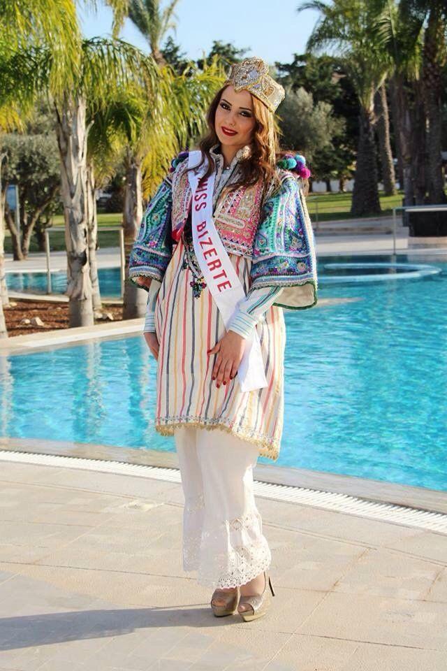Habit traditionnel de Tunisie Robe traditionnelle