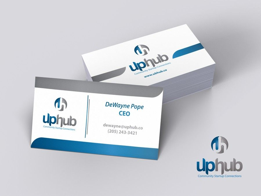 Create a logo and business card for an entrepreneurship resource hub ...