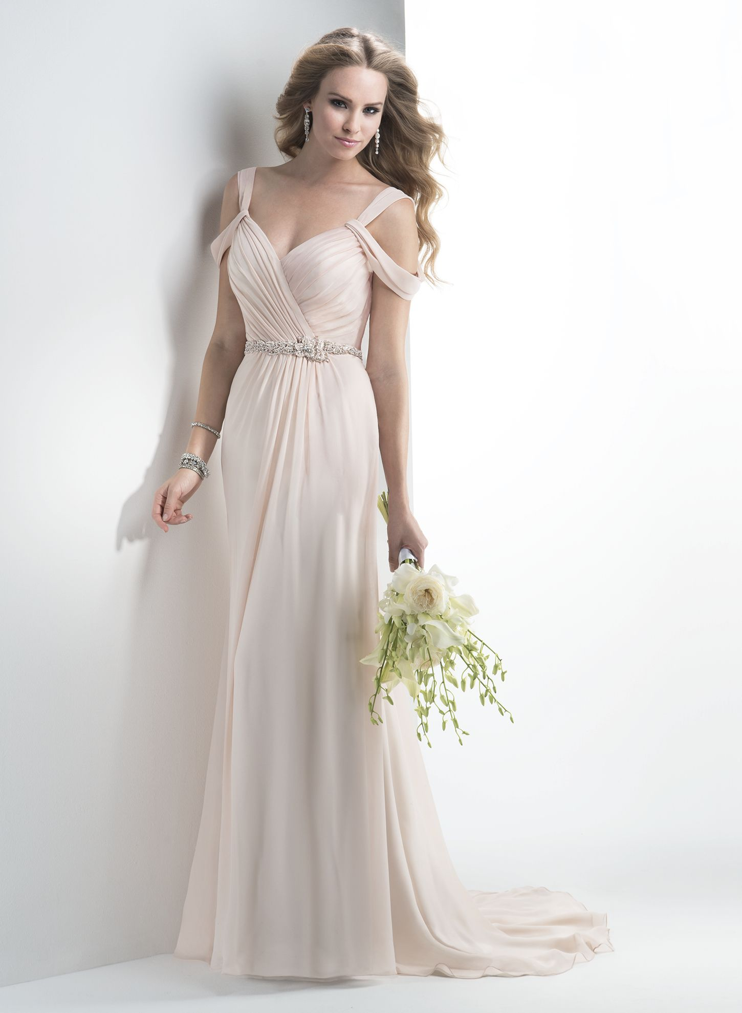 Maggie Sottero Wedding Dresses | Maggie sottero, Chiffon wedding ...