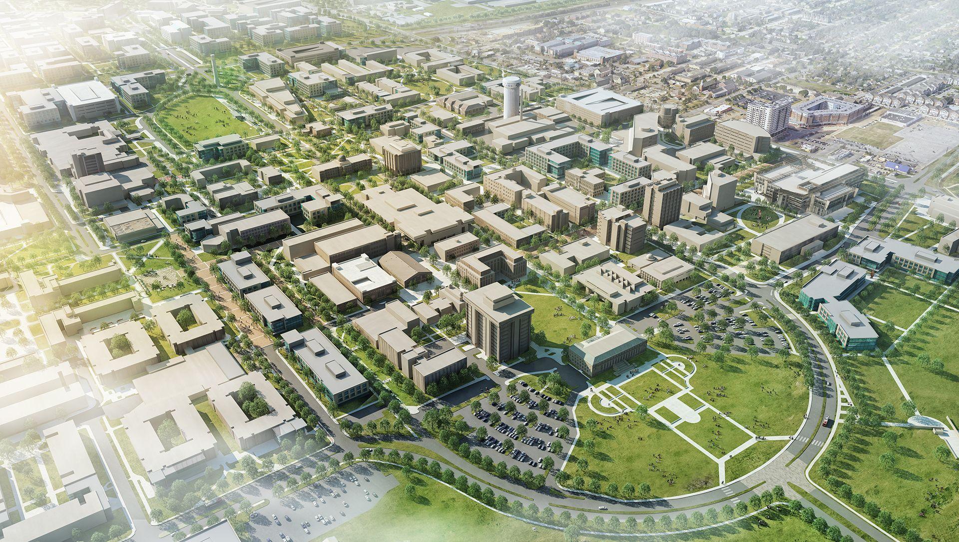Texas A M Campus Master Plan Ayers Saint Gross Master Plan Campus Urban Planning