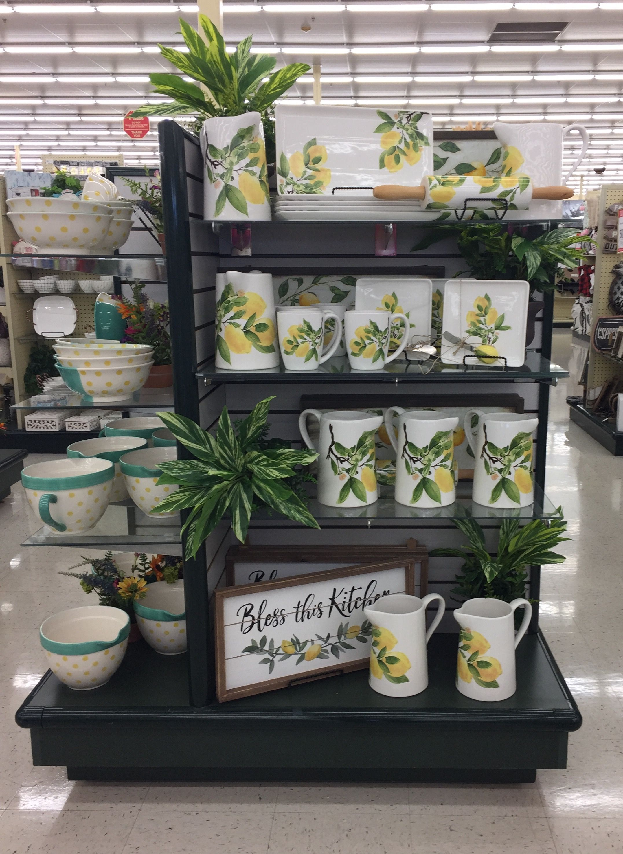Pin By Lorena On Hobby Lobby With Images Lemon Kitchen Decor