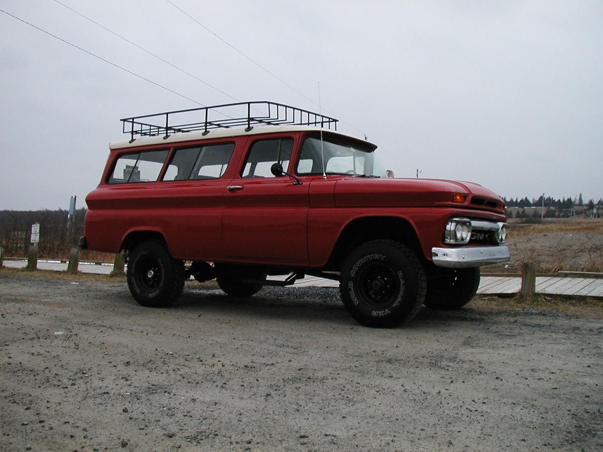 Truck 1963 chevy panel truck for sale : Byron 1963 GMC Suburban | Beautiful Things that make me Smile ...