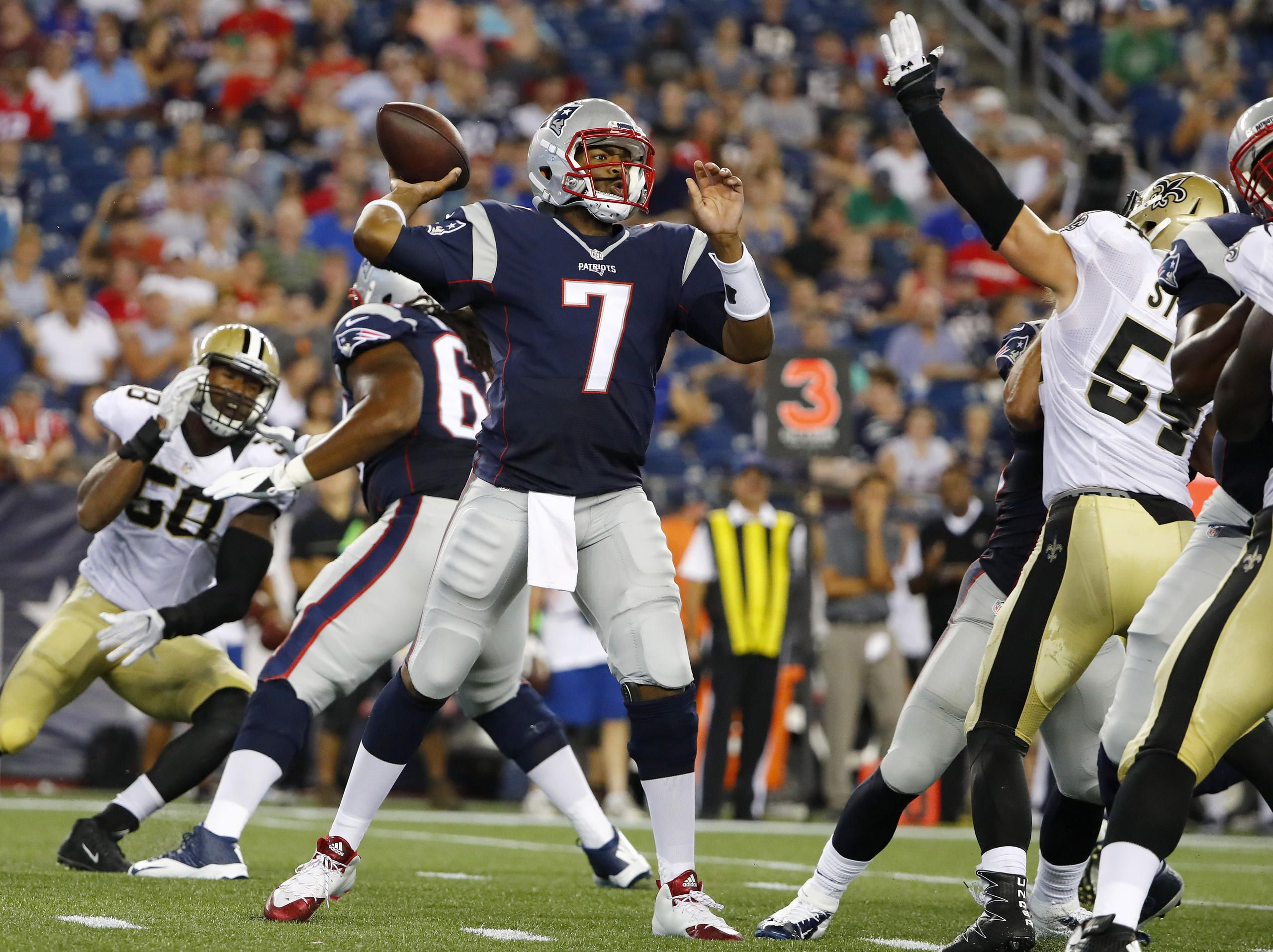 All The Highlights From The Patriots Saints Preseason Game Nfl Preseason Nfl New England Patriots