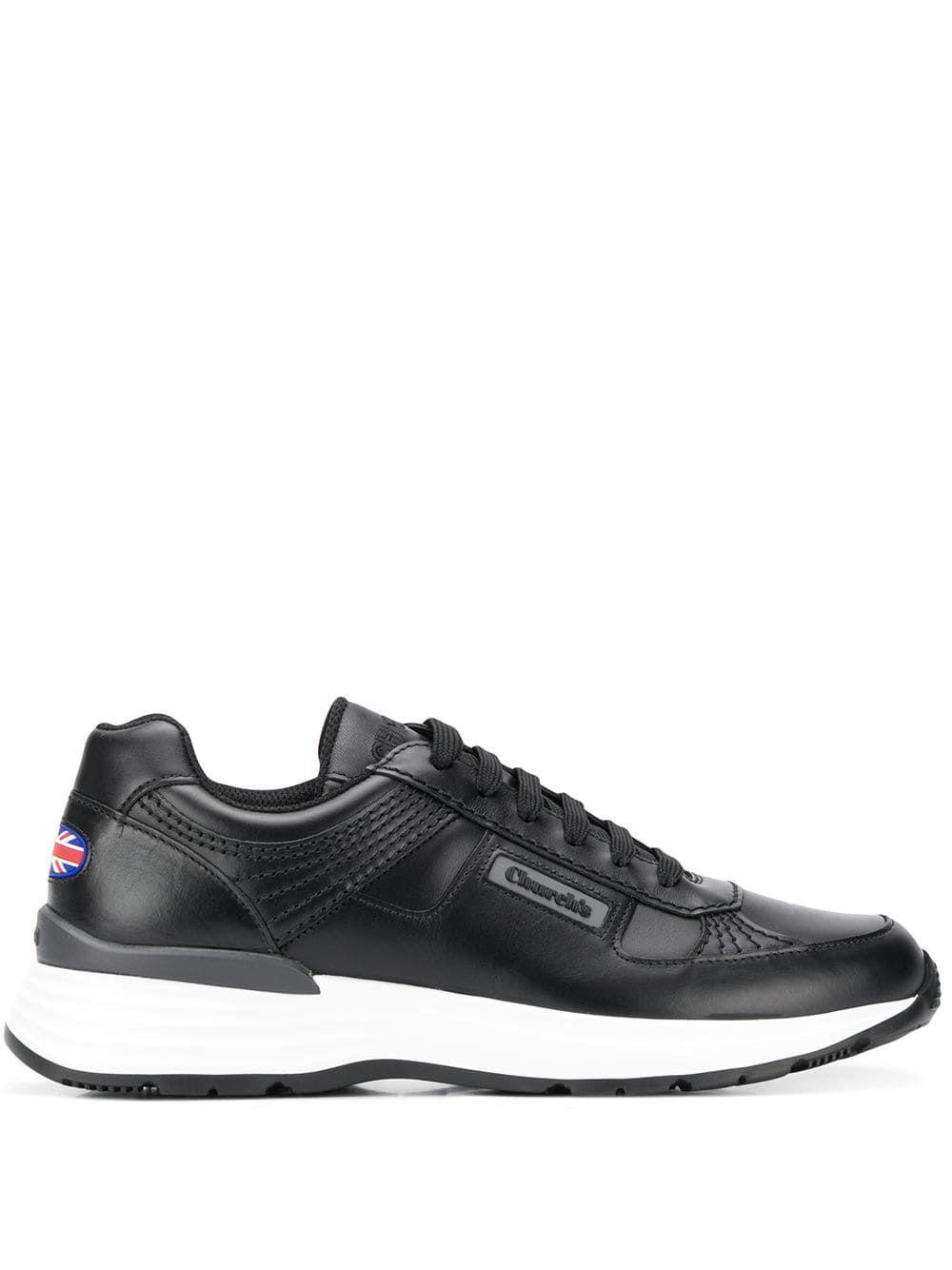 RETRO SNEAKERS - BLACK. #churchs #shoes