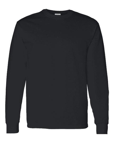 Black T Shirt For Men Png Long Sleeve Long Sleeve Tshirt Men Sleeves