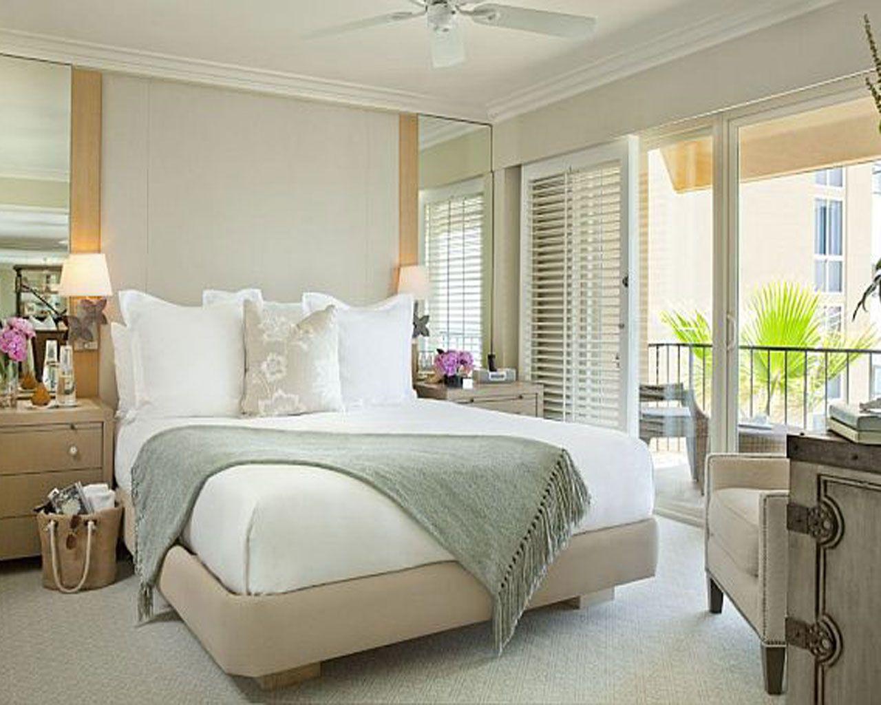 Charmant Elegant Bedroom Interior Design With White Furniture   Interior Cruz