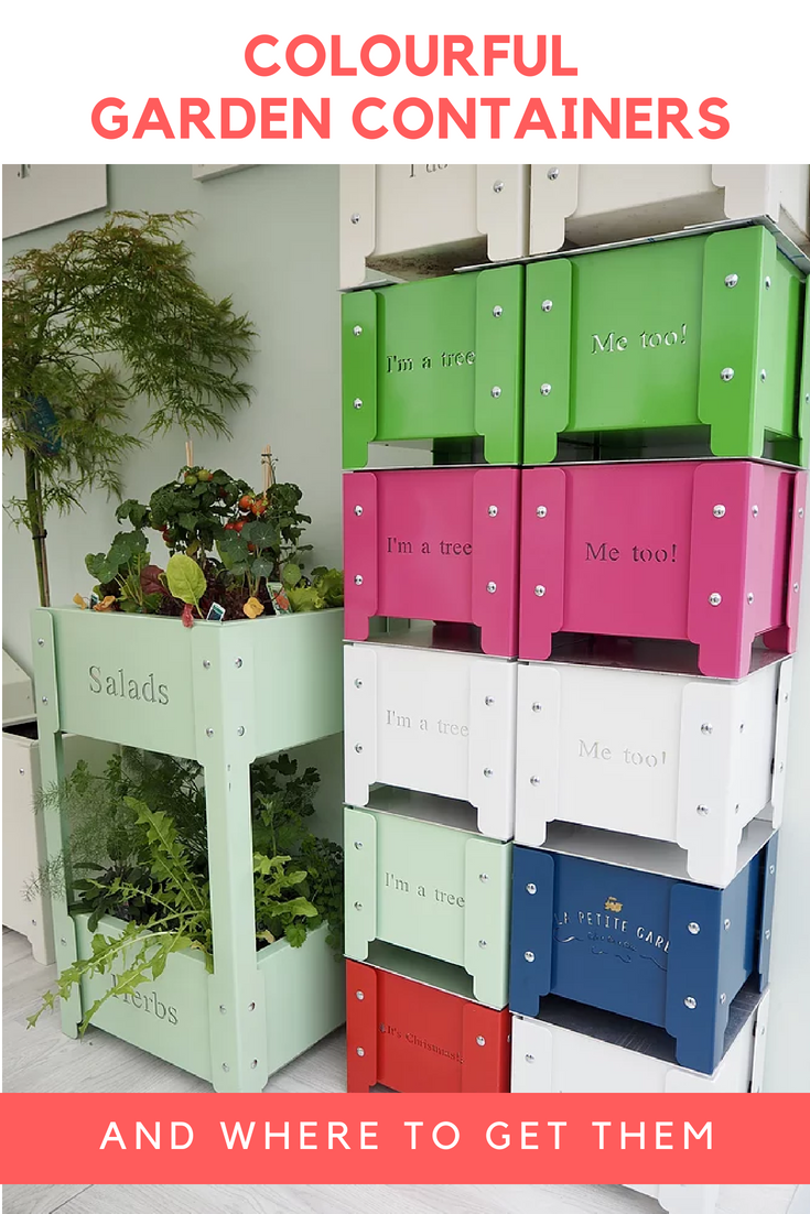 Colourful eclectic garden storage containers and where to get them colourful eclectic garden storage containers and where to get them beautiful ideas from chelsea flower izmirmasajfo