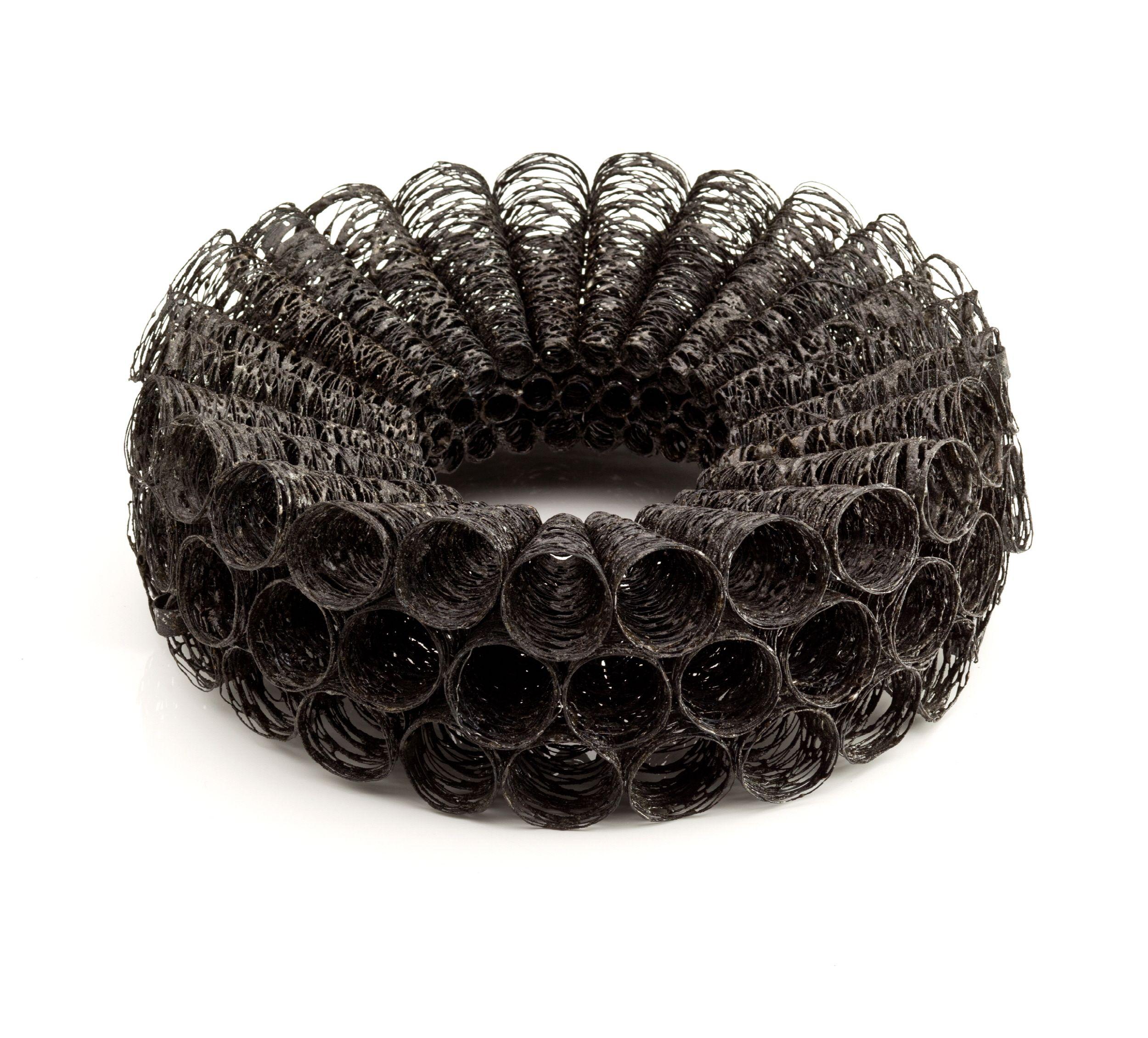 Heejin Hwang: bracelet of steel wire