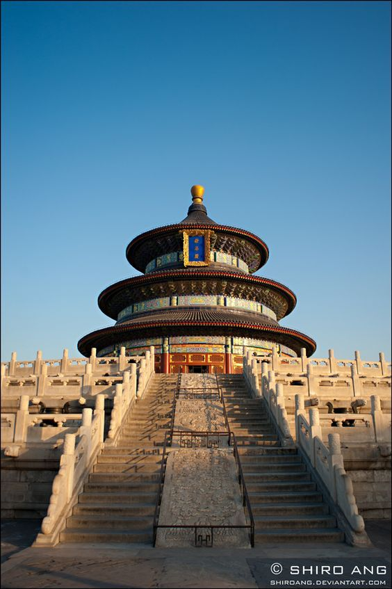 Beijing China Temple Of Heaven