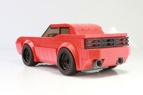 My Dodge Challenger As A Speed Champions Car With Instructions