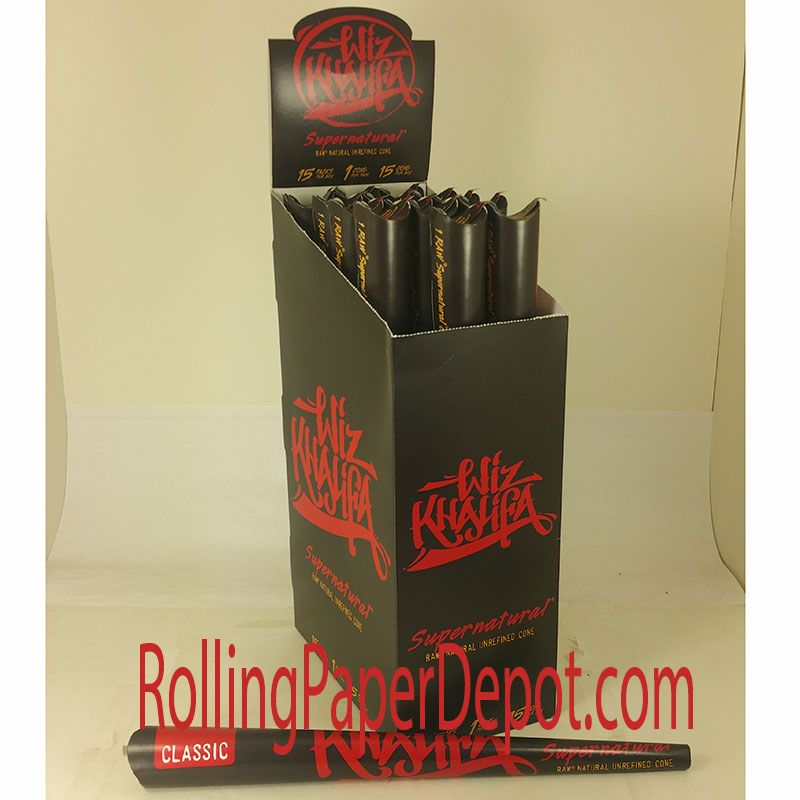 Wiz Khalifa Edition Supernatural Rolling Papers The Wiz Rolling Paper Paper