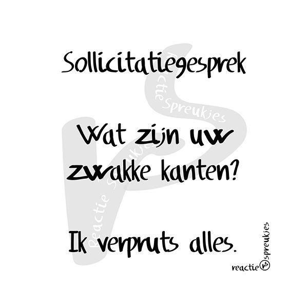 sollicitatiebrief humor Sollicitatiegesprek #humor #lol | Teksten | Pinterest | Funny quotes sollicitatiebrief humor