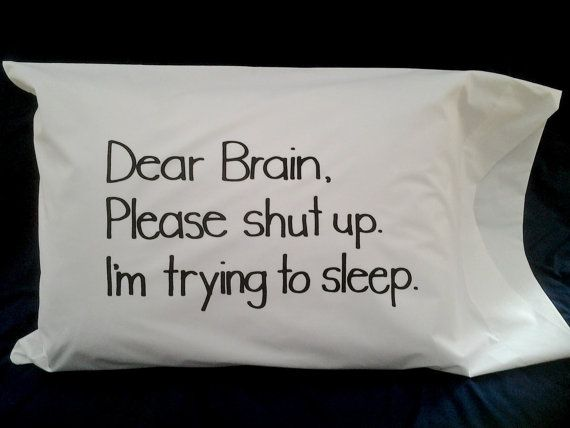 Printed Words Pillow Case Sayings On Pillow Unique Bedding