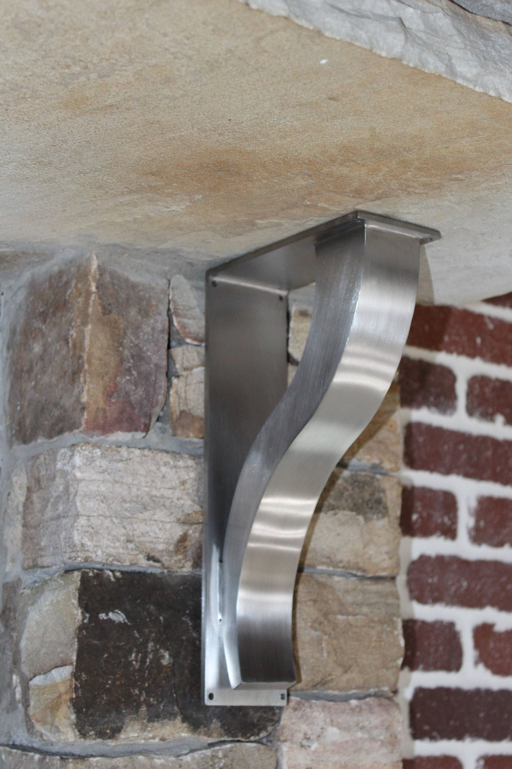 Stainless Steel Countertop Support Brackets Architectural