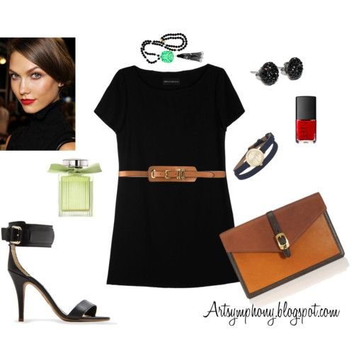 Art Symphony: Little black dress...