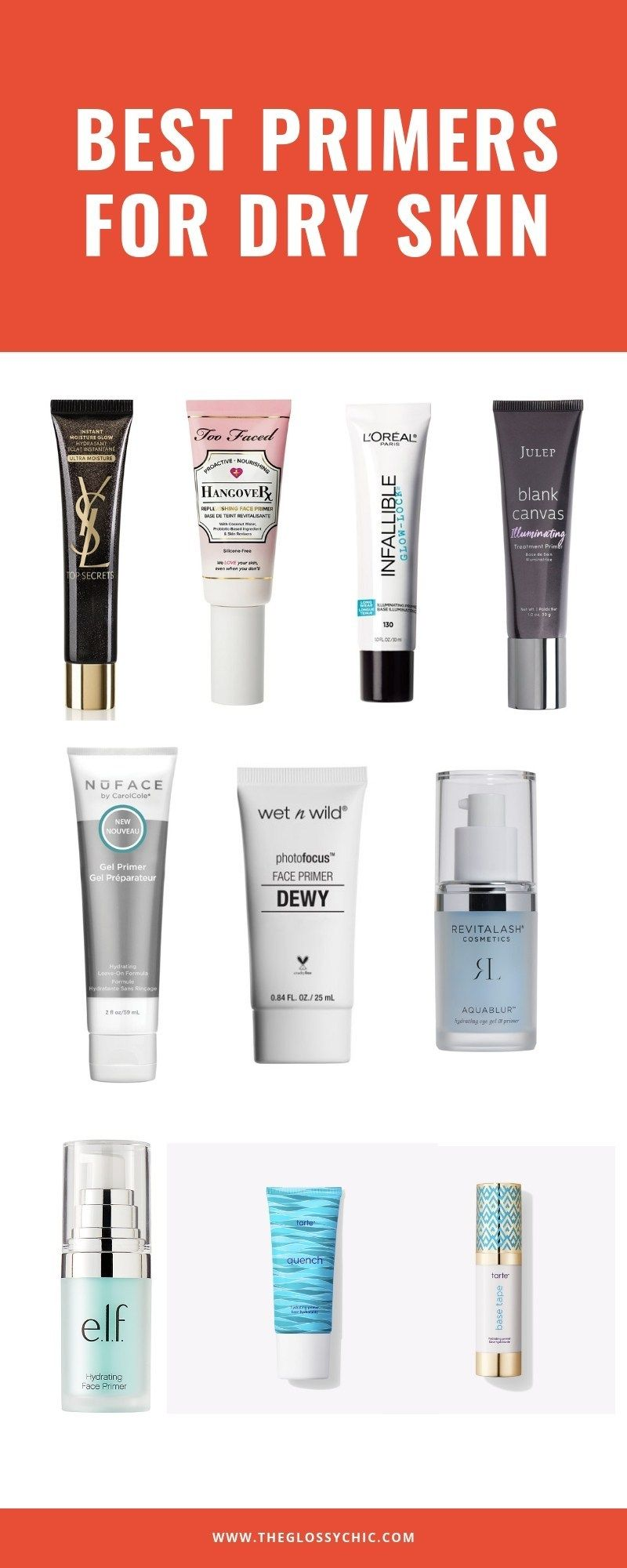 10 Best Primers For Dry Skin Primer For Dry Skin Lotion For Dry Skin Serum For Dry Skin