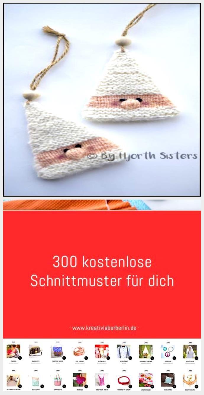 Photo of ByHjorthSisters: Gratis opskrift: Strikket nisseophæng – Bond Knitting
