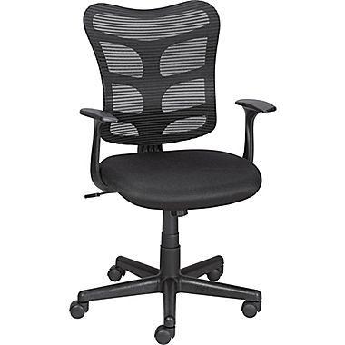 staples® roncer mesh back task chair, black | office | pinterest