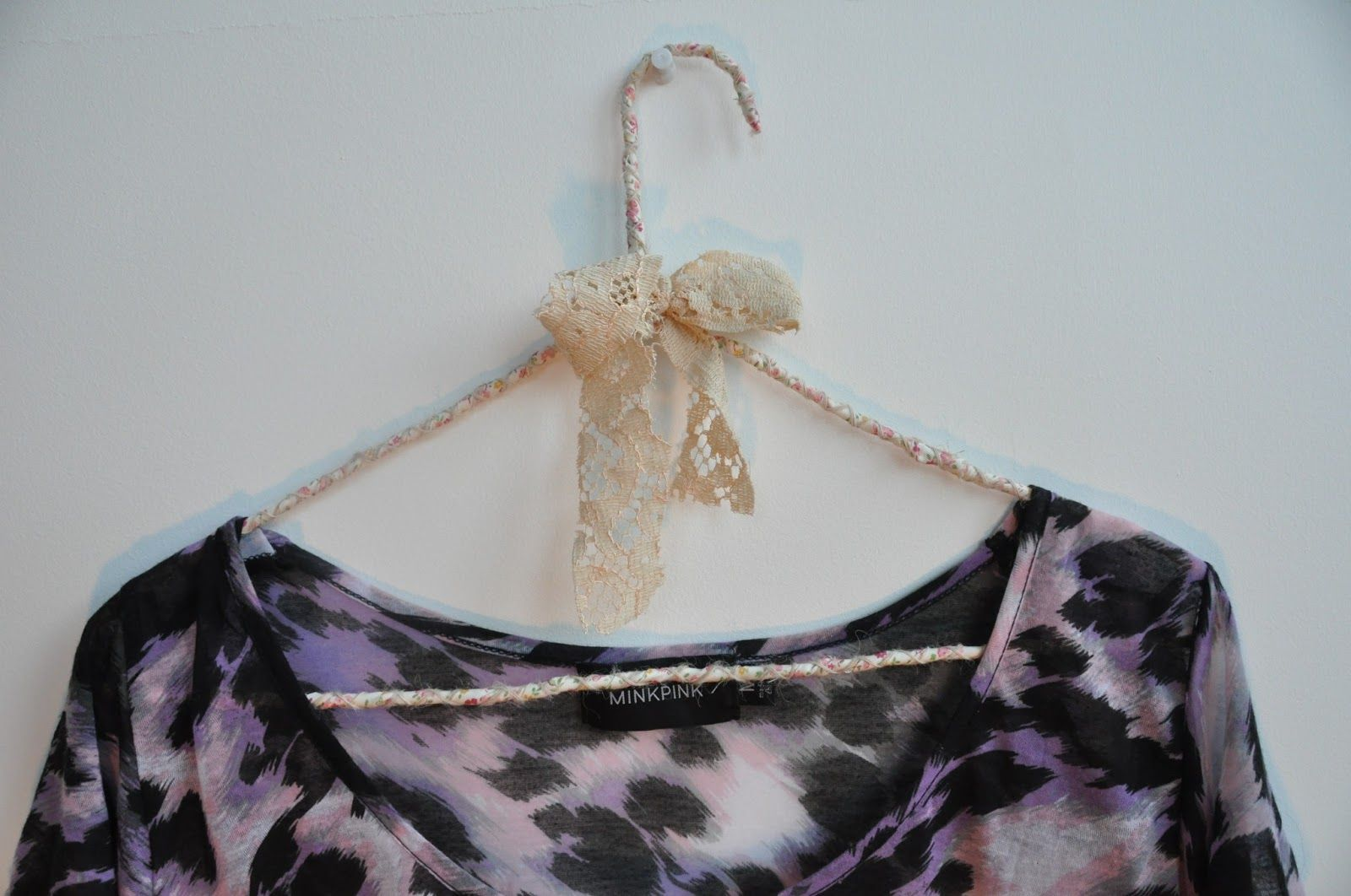 Diy Brandy Melville Style Fabric Hangers These Are So Cute And