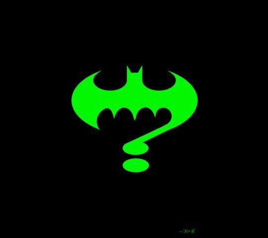 Batman vs The Riddler