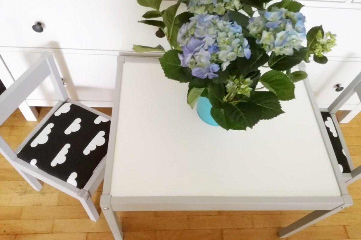 Ikea Küchenstühle ~ Ikea lätt kindertisch und stühle upcycling upcycling