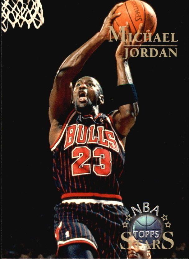 9946908848e86c 1996 Topps Stars  24 Michael Jordan