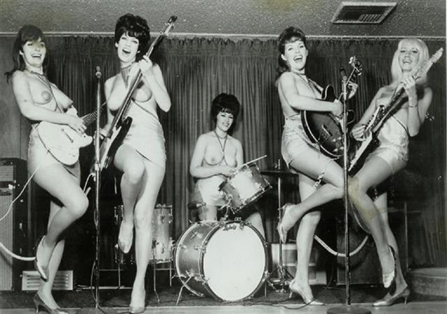 girl bands Nude rock