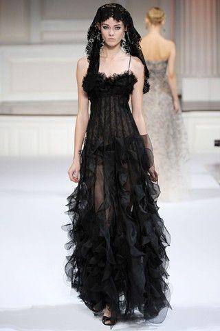 black wedding lingerie