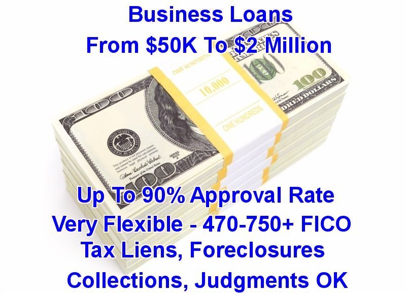 Business Loans 50k 2 Million Get Approved In 24 Hours Or Less Very Flexible 470 750 Fico Business Loans Small Business Funding Small Business Loans