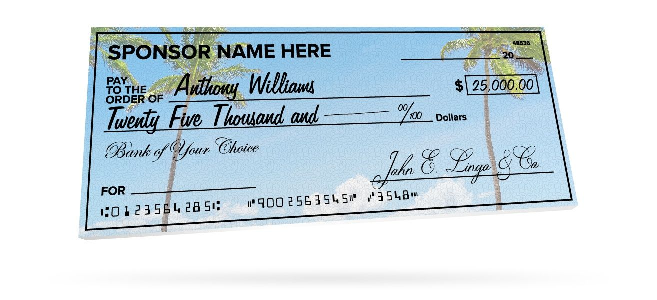 The Mesmerizing Giant Checks Pertaining To Customizable Blank Check Template Pics Below Is Other Parts Of Business Card Template Word Giant Check Blank Check