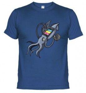 Camiseta Calamar Sin Tinta