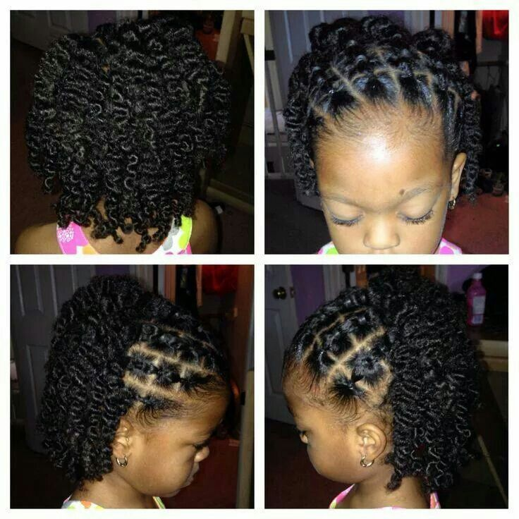 Kid S Style Simple And Pretty Natural Hairstyles For Kids Natural Hair Styles Easy Hair Styles