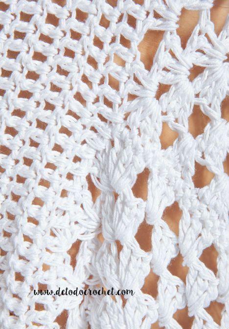 Todo crochet | Pinterest | Redecilla, Puntos y Puntos crochet