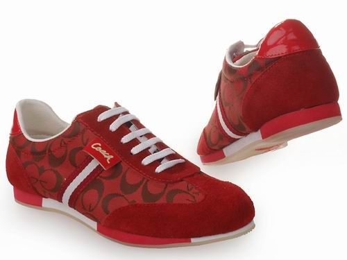 Coach Sneaker Women Red With White Stripes - Yes, Please ...