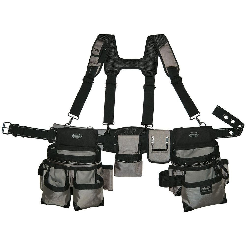 Bucket Boss Mullet Buster 31 In Suspension Rig Tool Belt Pouch Tool Belt Belt