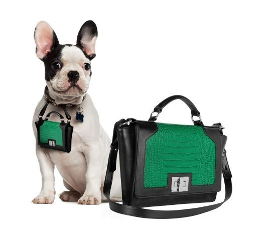 Forzieri's 'Pawbag' Bags for Dogs Help Owners Effortlessly Match #luxury #trends trendhunter.com
