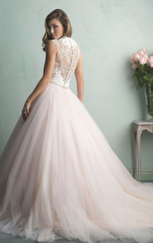 2015 WEDDING DRESS TREND – BREATHTAKING BACK DETAILS -  This season our brides are asking for unique back details, and Novelle Bridal Shop has just what they want! Whether you saw it on your friends Pinterest board, or while flipping through this months B ✿