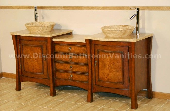Silk Road Exclusive Double Vessel Vanity Hyp 0714 72 By